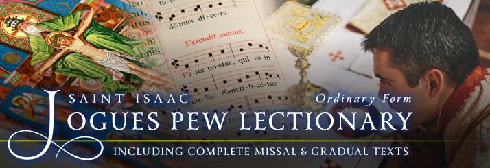 St. Isaac Jogues Missal, Lectionary, & Gradual